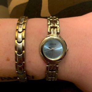 Guess Watch Women's Blue face Wristwatch